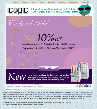 iCopic New Arrival & 2 Days Sale